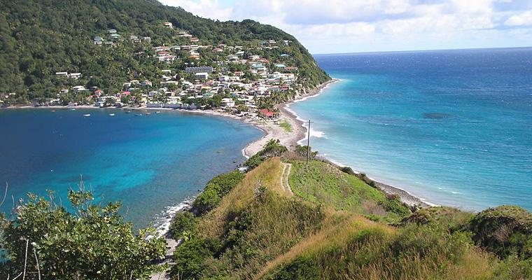 Scotts Head, Доминика