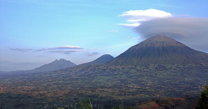 Вулканы в Руанде