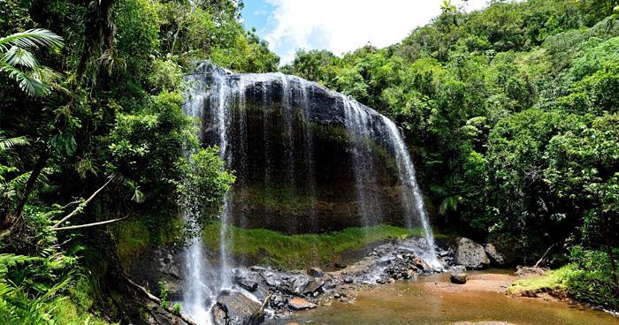 Водопад Ngeremlengui, Палау
