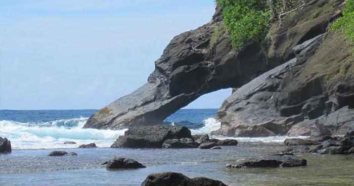 На Северо-Востоке Острова Аунуу, Самоа