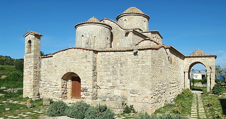 Панагия Канакария, византийская церковь, Кипр