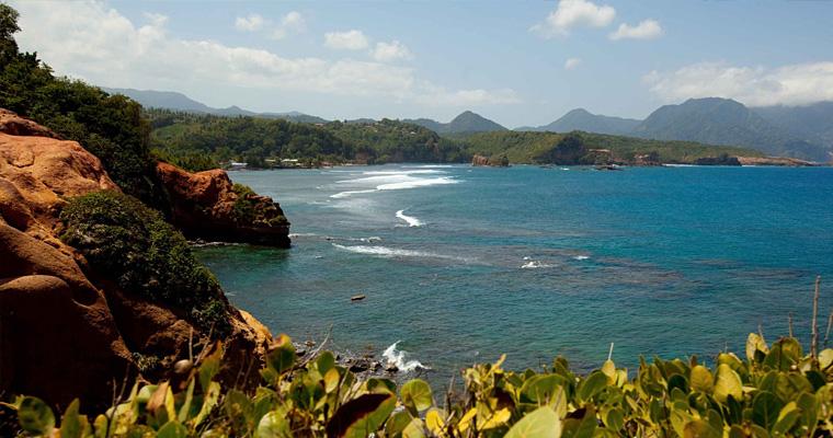Побережье, Доминика