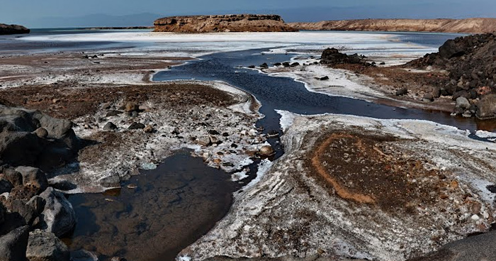 Отложение солей, Джибути