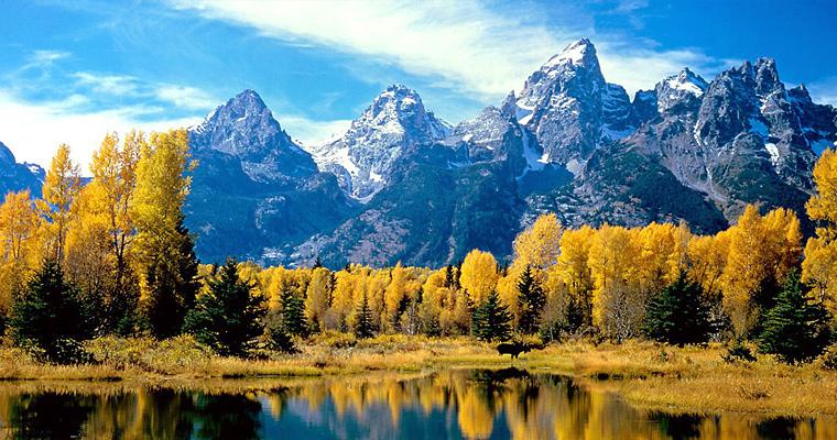 Гранд Тетон, Национальный парк, США