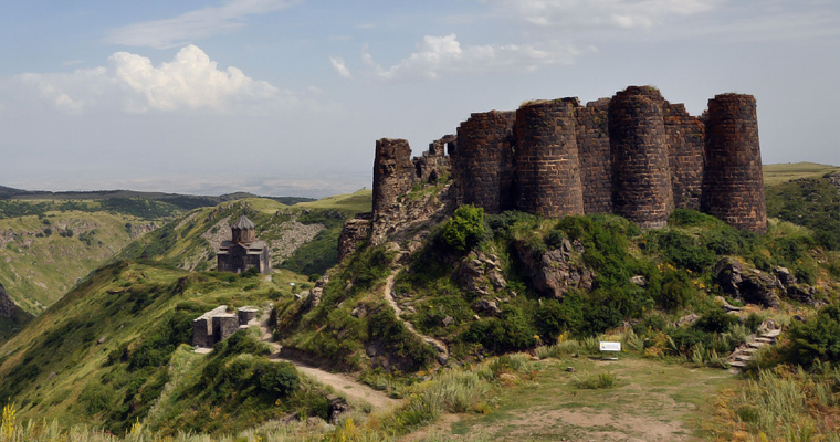Крепость Амберд, Армения.