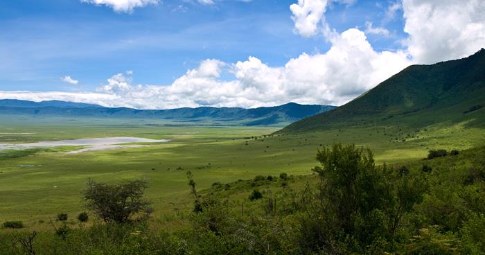Кратер Нгоронгоро, Танзания
