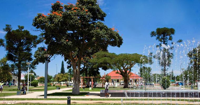 Исторический часть города Хуамбо, Ангола