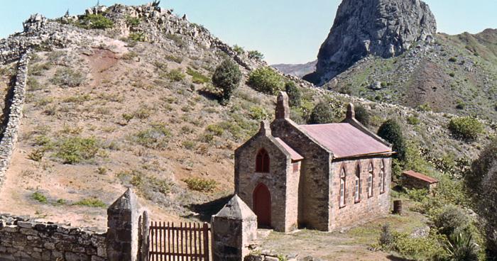 Церковь Крестителя, Остров Святой Елены
