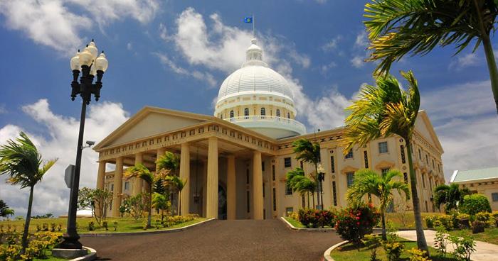 Новый Капитолий, Палау