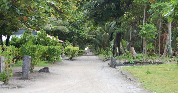Главная дорога, Остров Нуи, Тувалу
