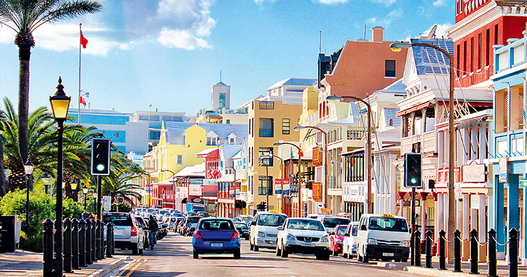 Улица Гамильтона, Бермудские острова