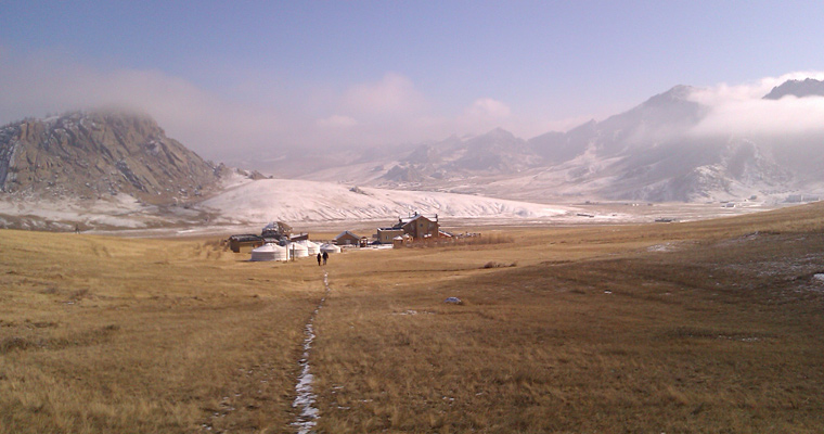 Юрты, Монголия