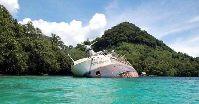 Первооткрыватель, Соломоновы острова