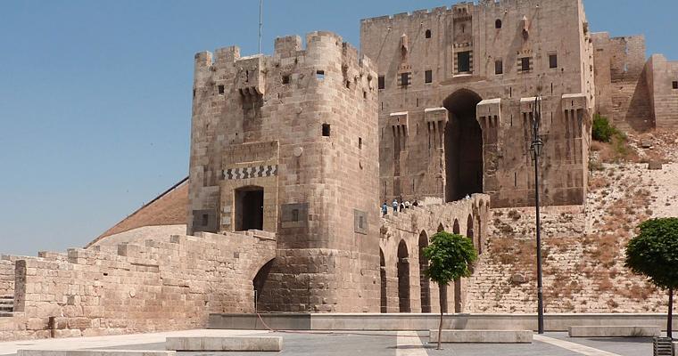 Старый Цитадель, Алеппо, Сирии