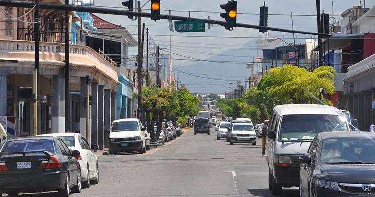 Улица в Кингстоне, Ямайка