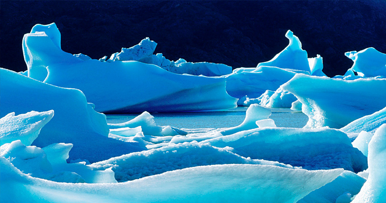 Ледник Торрес-дель-Пайне, Патагония, Чили