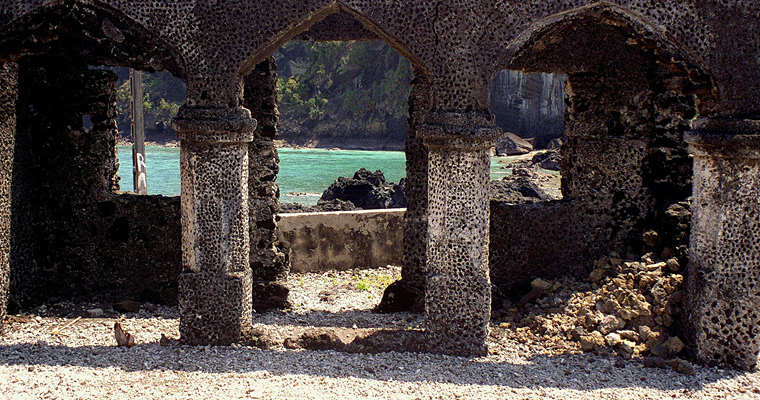 Руины мечети, Морони, Коморские Острова