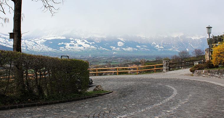 Улица в Вадуц, Лихтенштейн