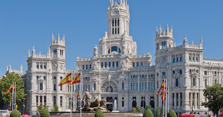 Palacio de Comunicaciones, Испания