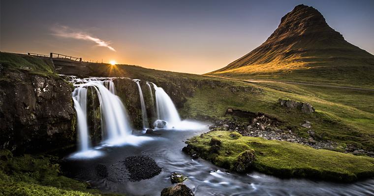 Kirkjufell, Исландия