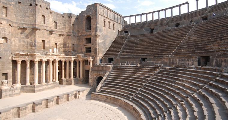 Амфитеатр Босра, Сирия