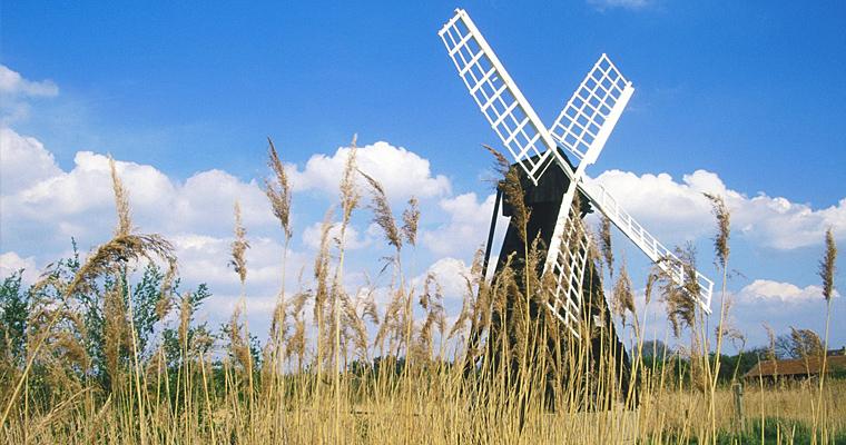 Ветряная мельница, Кембриджшир, Великобритания