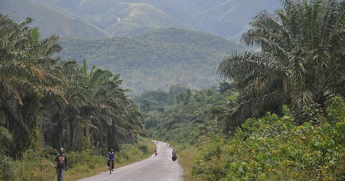 Напряжённый дорожный трафик в Бурунди