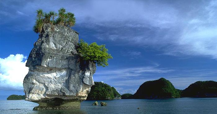 Скальные острова, Палау