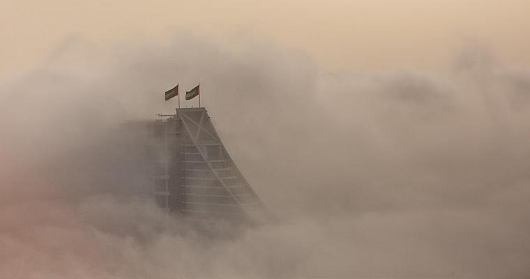Пыльная буря, Дубай, ОАЭ