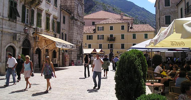 Улица Котора, Черногория