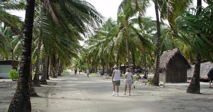 Улица Южной Таравы, Кирибати