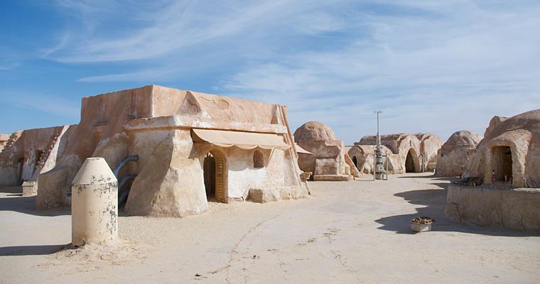 Декорация к фильму Звездные войны, Тунис