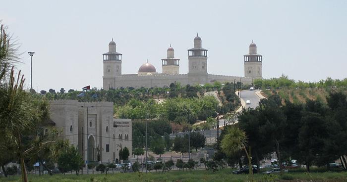Мечеть Короля Хусейн в Аммане, Иордания
