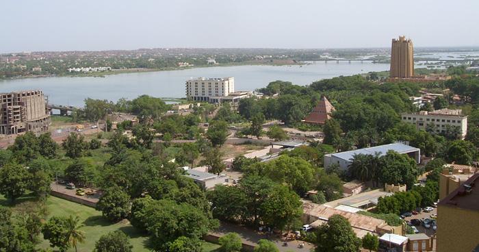 Бамако на реке Нигер