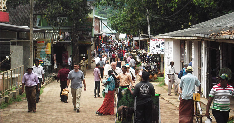 Улица города Коломбо, Шри-Ланка