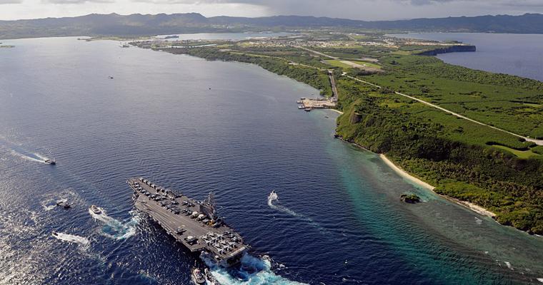 Военно-морской флот США, Гуам