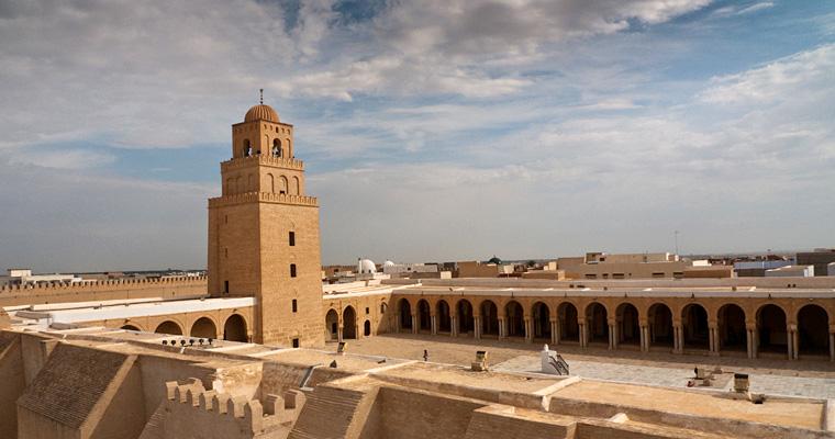 Великая мечеть Кайруан, Тунис