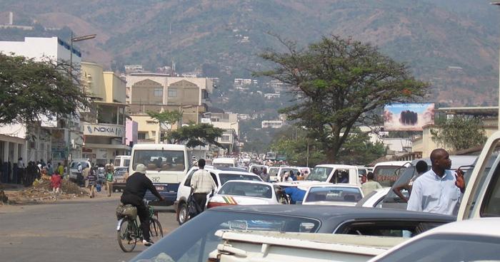 Улица Бужумбура, Бурунди