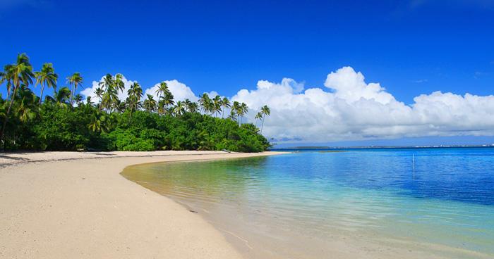 Пляж, Тонга