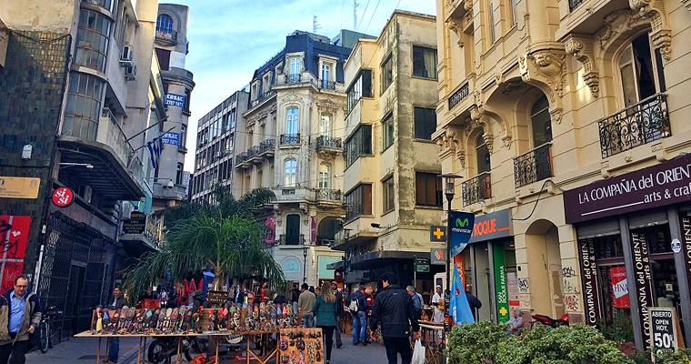 Монтевидео, Старый город, Уругвай