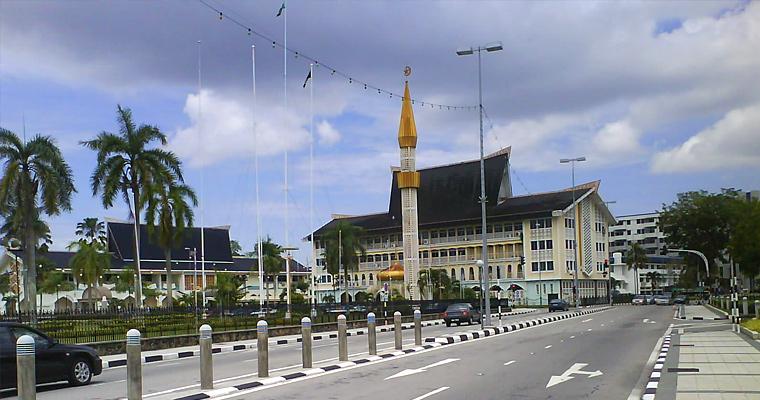 Улица Jalan Sultan, Бандар-Сери-Бегаван, Бруней