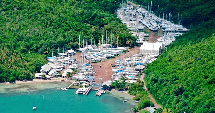 Вид с воздуха, Гренада
