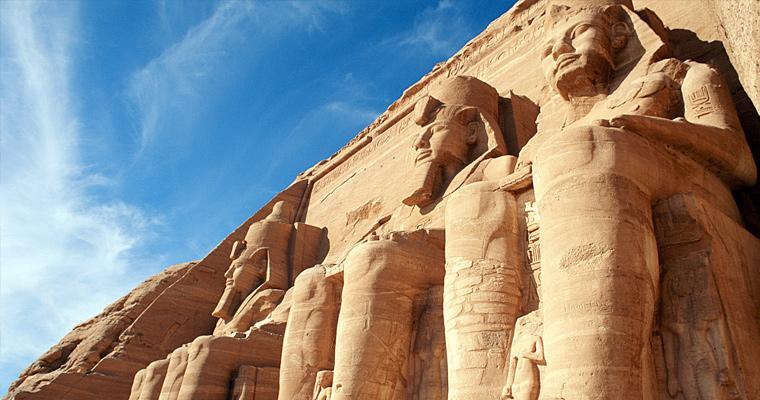 Храмы Абу-Симбел, Египет