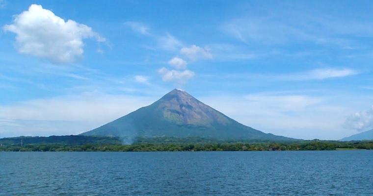 Озеро Никарагуа, Вулкан на Исла Ометепе
