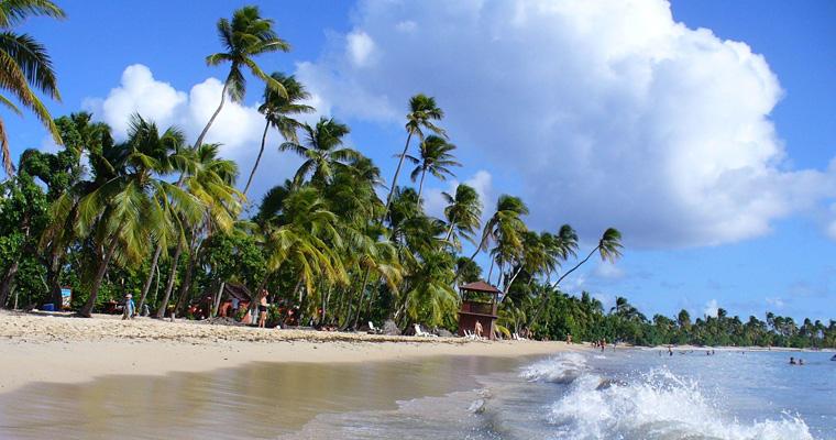 Соленые пляж Мартиника, Сент-Энн