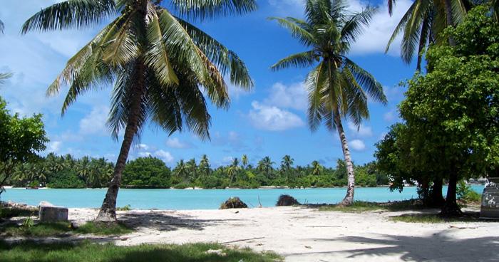 Белые песчаные пляжи, Кирибати