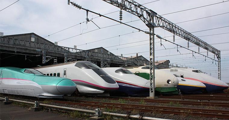 Скоростные поезда, Япония