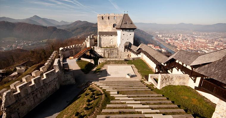 Целе, Словения