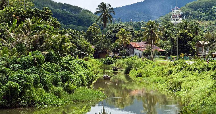 Малазийская деревня
