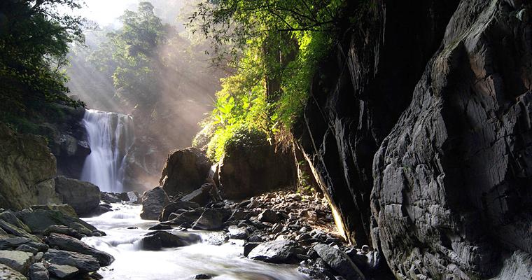 Водопад Neidong, Тайвань